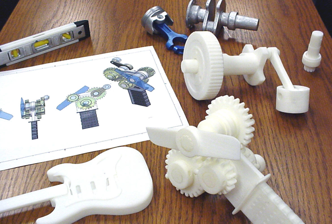 What One Thing Do Plastic Pistols, Human Organs, and Engine Parts Have in Common?