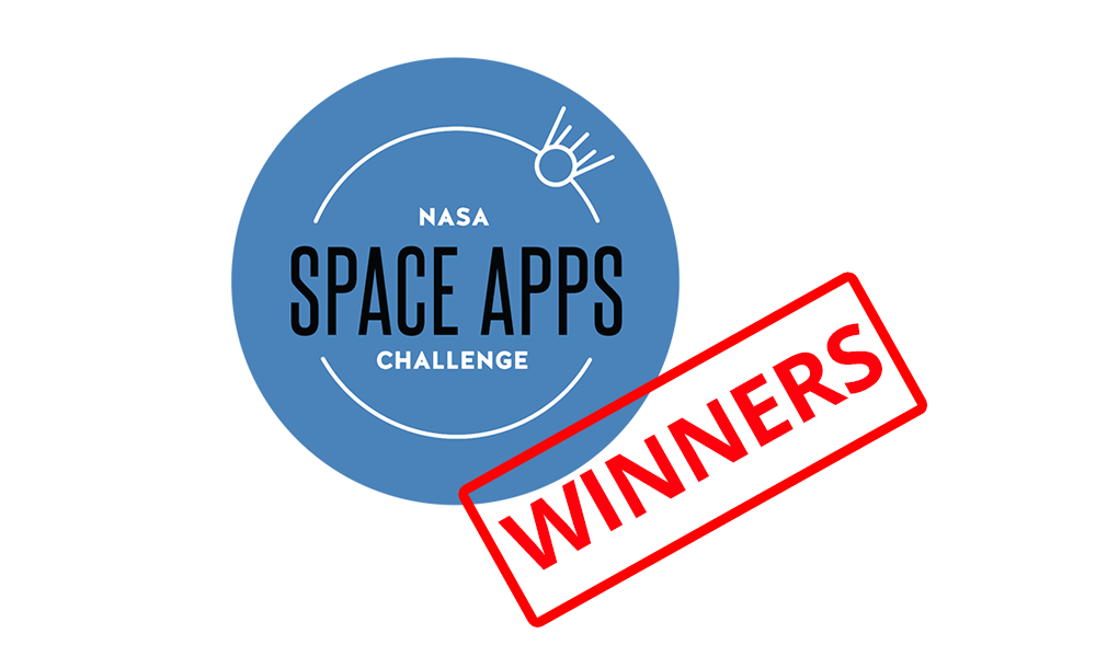 Winners of NASA Space Apps Challenge