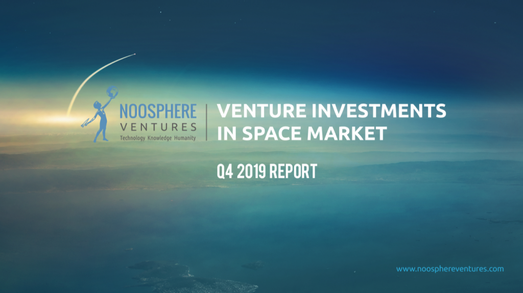 Q4 2019 Edition Of Venture Investments In Space Market