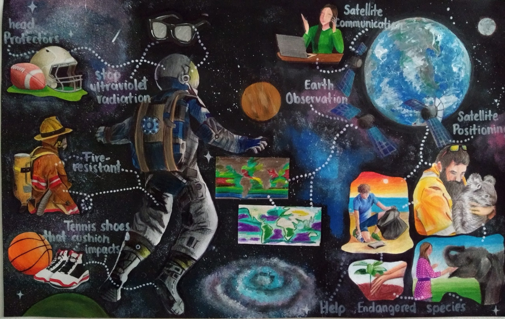 Space Foundation Announces Winners of the 11th Annual International Student Art Contest